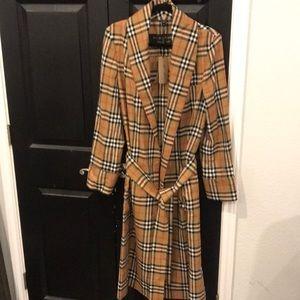 Authentic Men's Burberry coat never worn